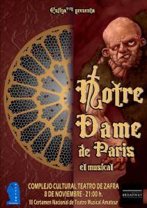 Cartel Notre Dame Zafra p